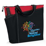 Thanks For Making The World Brighter Meadowbrook Tote Bag