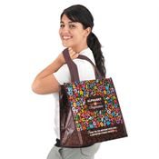 Alphabet Of Inspiration Laminated Eco-Shopper Tote - Personalization Available