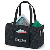 Lynbrook Utility Tote (Black) - Personalization Available