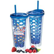 More Than Words Can Say You're Appreciated In Every Way Fruit-To-Go Infuser Tumbler