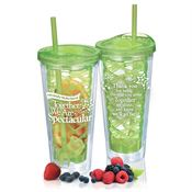Individually We Are Special, Together We Are Spectacular Fruit-To-Go Infuser Tumbler