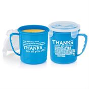 Thanks For All You Do Soup Mug With Locking Lid