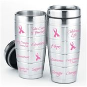 BCA Stainless Steel Awareness Message Tumbler