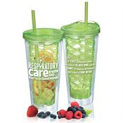 Respiratory Care Breathe Easy...You're In Good Hands Fruit-To-Go Infuser Tumbler 20-oz.