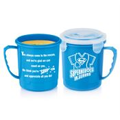 Superheroes In Scrubs Soup Mug With Locking Lid 24-oz.