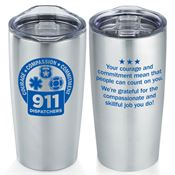 911 Dispatchers Everest Vacuum Tumbler 20-oz.
