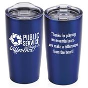 Public Service Making A Difference Everest Vacuum Tumbler 20-oz.