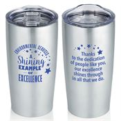 Evironmental Services: A Shining Example Of Excellence Everest Vacuum Tumbler 20-oz.