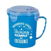 Environmental Services: A Shining Example Of Excellence Soup Mug With Locking Lid