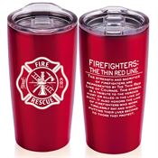 Firefighters: The Thin Red Line Everest Vacuum Tumbler 20-oz.