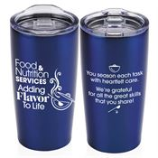 Food & Nutrition Services: Adding Flavor To Life Everest Vacuum Tumbler 20-oz.