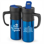 Thanks For Making A Difference Montauk Insulated Travel Mug 15-oz.