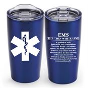 EMS: The Thin White Line Everest Vacuum Tumbler