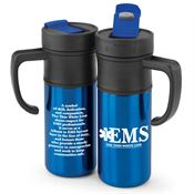 EMS: The Thin White Line Montauk Insulated Travel Mug
