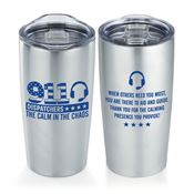 911 Dispatchers: The Calm In The Chaos Everest Vacuum Tumbler 20-oz.