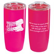 Imagine A World With A Cure Sierra Insulated Acrylic Tumbler 19-oz.