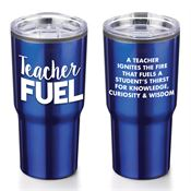 Teacher Fuel Timber Insulated Stainless Steel Travel Tumbler 20-oz.