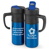 Teamwork Makes The Dream Work Montauk Insulated Travel Mug 15-oz.