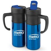 Montauk Insulated Blue Travel Mug 15-oz. - Personalization Available