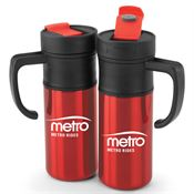 Montauk Insulated Red Travel Mug 15-oz.  - Personalization Available