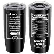 I Am A... Nurse Stainless Steel Travel Tumbler 20-Oz. With Personalization