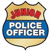 Junior Police Officer Temporary Tattoo