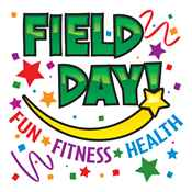 Field Day: Fun * Fitness * Health Temporary Tattoos