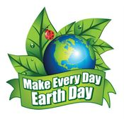 Make Every Day Earth Day Temporary Tattoos