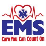 EMS: Care You Can Count On Temporary Tattoo