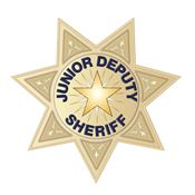 Junior Deputy Sheriff Temporary Tattoo
