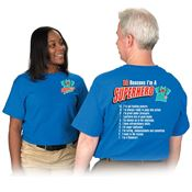 Superheroes In Scrubs 10 Reasons I'm A Superhero! 2-Sided T-Shirt