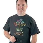 Touching Lives, Lifting Spirits Short-Sleeve T-Shirt