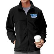 Team Environmental Services Embroidered Unisex Full-Zip Fleece Jacket