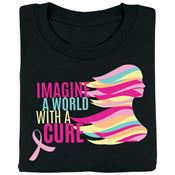 Imagine A World With A Cure Awareness T-Shirt