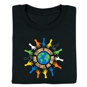 Celebrate Diversity: Many Cultures, One Nation Adult T-Shirt