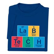 Medical Laboratory Professionals: Lab Tech Periodic Table T-Shirt