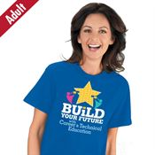 Build Your Future With Career & Technical Education Adult T-Shirt