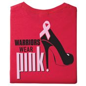 Warriors Wear Pink Awareness 2-Sided T-Shirt