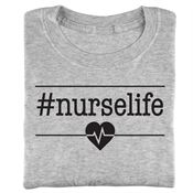#NURSELIFE Short-Sleeved Recognition T-Shirt