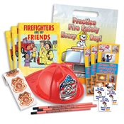 Firefighters Are My Friends 700-Piece Open House Kit