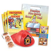 Junior Firefighter 500-Piece Open House Kit