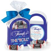 "Thanks For The ""Roll"" You Play Tootsie Roll® Paper Tote"