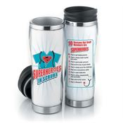 Superheroes In Scrubs Insulated Tumbler 16-Oz.