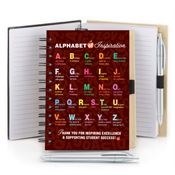 Alphabet Of Inspiration Full-Color Notebook & Stylus Pen