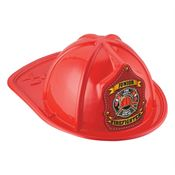 Junior Firefighter Hat (Red) - Fire Safety Starts With Me