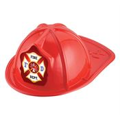 Maltese Cross Fire Department Hat (Red)