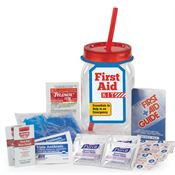 First Aid Mason Jar Tumbler Kit