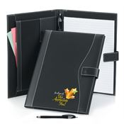 For All You Do We Appreciate You! Holiday Leatherette Portfolio With Stylus Pen