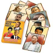 Black History Month Knowledge Cards In Full Color Box