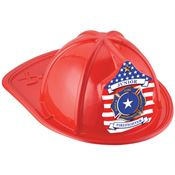 Patriotic Red Junior Firefighter Hat